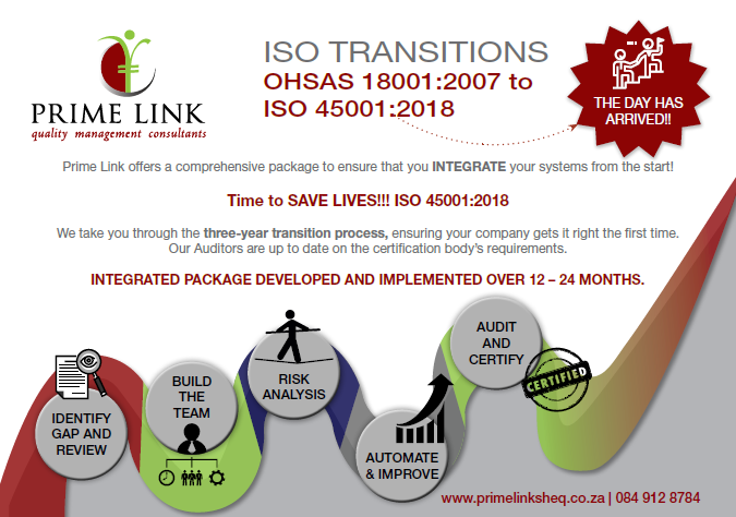 Iso45001 2018 Prime Link